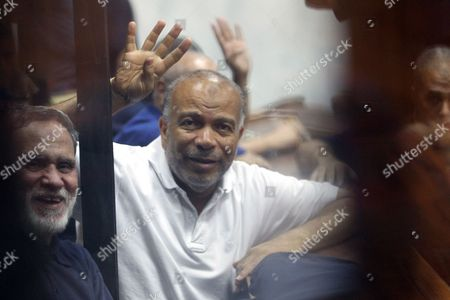 Editorial photo of Egypt Brotehrhood Trial - Jul 2014