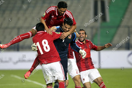 Editorial photo of Egypt Soccer Egyptian Super Cup - Sep 2014