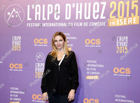 French Actress and Singer Claire Keim Attends the Opening Ceremony of the 18th Annual International Comedy Film Festival in L'alpe D'huez France 14 January 2015 the Festival Runs From 14 to 18 January France Alpe D'huez