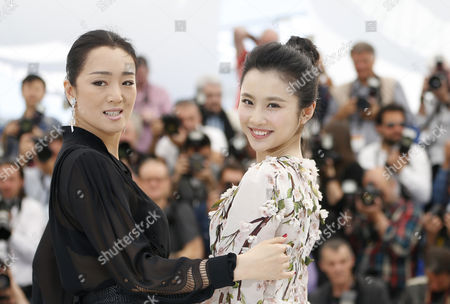 Chinese Actress Gong Li (l) and Chinese Actress Zhang Huiwen (r) Pose During the Photocall For 'Gu Lai' (coming Home) at the 67th Annual Cannes Film Festival in Cannes France 20 May 2014 the Movie is Presented out of Competition at the Festival Which Runs From 14 to 25 May France Cannes