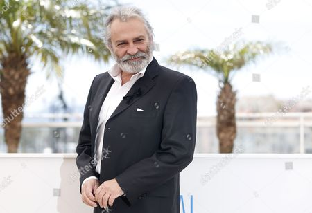 Turkish Actor Haluk Bilginer Poses During the Photocall For 'Winter Sleep' at the 67th Annual Cannes Film Festival in Cannes France 16 May 2014 Haluk Bilginer Wears a Black Ribbon in Support of the Victims of the Mine Disaster in Soma Turkey the Movie is Presented in the Official Competition of the Festival Which Runs From 14 to 25 May France Cannes