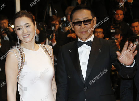 Chinese Actor Chen Daoming (r) and Chinese Actress Gong Li (l) Arrive For the Screening of 'Gu Lai' (coming Home) During the 67th Annual Cannes Film Festival in Cannes France 20 May 2014 the Movie is Presented out of Competition at the Festival Which Runs From 14 to 25 May France Cannes