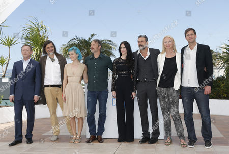 (l-r) British Actor Douglas Henshall Danish Director Kristian Levring Danish Singer Nanna Oland Fabricius Aka Oh Land Danish Actor Mads Mikkelsen French Actress Eva Green Us Actor Jeffrey Dean Morgan Danish Producer Sisse Graum Jorgensen and Danish Screenwriter Anders Thomas Jensen Pose During the Photocall For 'The Salvation' at the 67th Annual Cannes Film Festival in Cannes France 17 May 2014 the Movie is Presented out of Competition at the Festival Which Runs From 14 to 25 May France Cannes