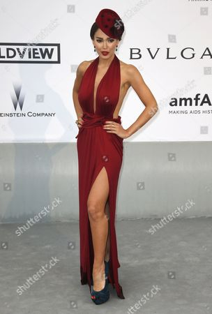 Canadian-iranian Model Sahar Biniaz Attends the Cinema Against Aids Amfar Gala 2014 Held at the Hotel Du Cap Eden Roc in Cap D'antibes France 22 May 2014 During the 67th Annual Cannes Film Festival the Festival Runs From 14 to 25 May France Cap D'antibes