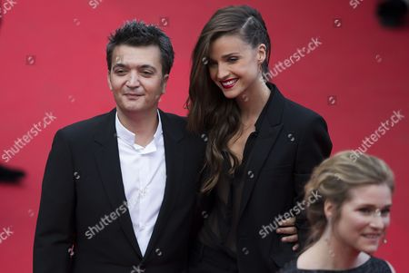 French Producer Thomas Langmann (l) and Partner Celine Bosquet (r) Arrive For the Screening of 'Saint Laurent' During the 67th Annual Cannes Film Festival in Cannes France 17 May 2014 the Movie is Presented in the Official Competition of the Festival Which Runs From 14 to 25 May France Cannes