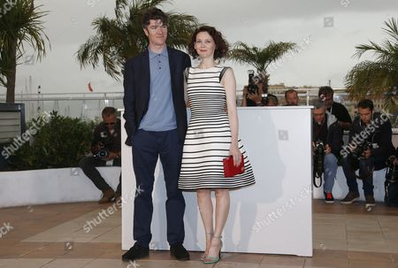 Irish Actress Simone Kirby (r) and Irish Actor Barry Ward (l) Pose During the Photocall For 'Jimmy's Hall' at the 67th Annual Cannes Film Festival in Cannes France 22 May 2014 the Movie is Presented in the Official Competition of the Festival Which Runs From 14 to 25 May France Cannes