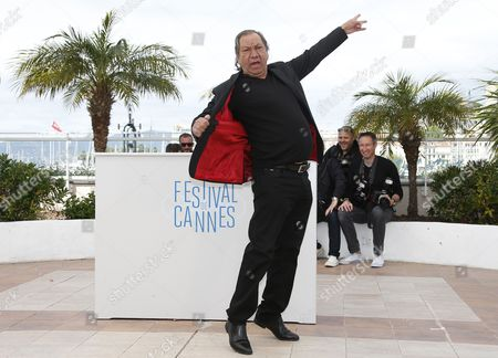 French Director Tony Gatlif Poses During the Photocall For 'Geronimo' at the 67th Annual Cannes Film Festival in Cannes France 20 May 2014 the Movie is Presented in the Section Special Screenings of the Festival Which Runs From 14 to 25 May France Cannes