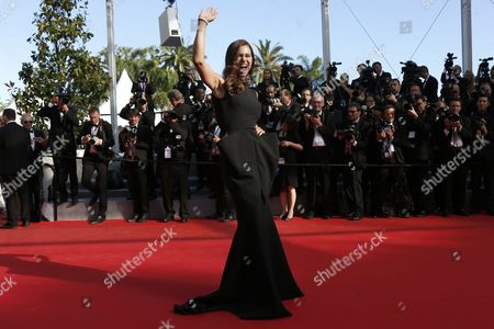 Portuguese Model Claudia Vieira Arrives For the Screening of 'Sils Maria' (clouds of Sils Maria) During the 67th Annual Cannes Film Festival in Cannes France 23 May 2014 the Movie is Presented in the Official Competition of the Festival Which Runs From 14 to 25 May France Cannes