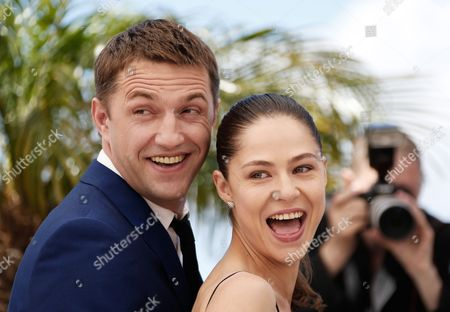 Russian Actor Vladimir Vdovichenkov (l) and Russian Actress Elena Lyadova (r) Pose During the Photocall For 'Leviathan' at the 67th Annual Cannes Film Festival in Cannes France 23 May 2014 the Movie is Presented in the Official Competition of the Festival Which Runs From 14 to 25 May France Cannes
