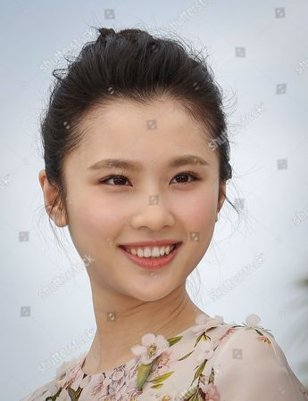 Chinese Actress Zhang Huiwen Poses During the Photocall For 'Gu Lai' (coming Home) at the 67th Annual Cannes Film Festival in Cannes France 20 May 2014 the Movie is Presented out of Competition at the Festival Which Runs From 14 to 25 May France Cannes