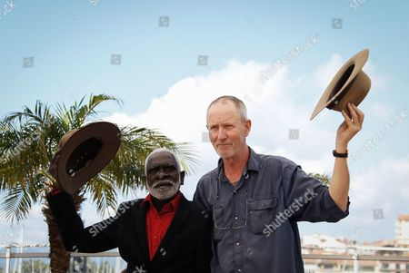 Dutch Australian Director Rolf De Heer (r) and Yolngu Man Aboriginal Peter Djigirr (l) Pose During the Photocall For 'Charlie's Country' at the 67th Annual Cannes Film Festival in Cannes France 23 May 2014 the Movie is Presented in the Section Un Certain Regard of the Festival Which Runs From 14 to 25 May France Cannes