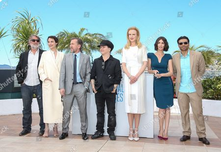 (l-r) French Producer Pierre Ange Le Pogam French Actress Jeanne Balibar British Actor Tim Roth French Director Olivier Dahan Australian Actress Nicole Kidman Spanish Actress Paz Vega and Bollywood Producer Uday Chopra Pose During the Photocall For 'Grace of Monaco' at the 67th Annual Cannes Film Festival in Cannes France 14 May 2014 Presented out of Competition the Movie Opens the Festival Which Runs From 14 to 25 May France Cannes