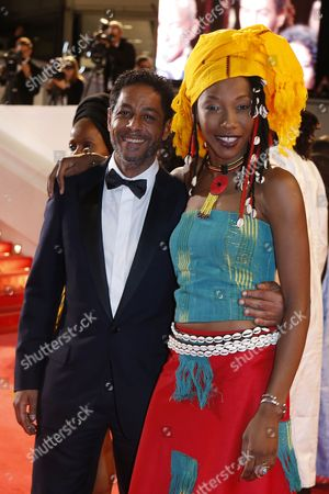 Tunisian Actor Abel Jafri (l) and Guest Arrive For the Screening of 'Timbuktu' During the 67th Annual Cannes Film Festival in Cannes France 15 May 2014 the Movie is Presented in the Official Competition of the Festival Which Runs From 14 to 25 May France Cannes