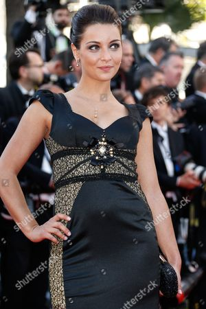 French Singer Priscilla Betti Arrives For the Screening of 'Mr Turner' During the 67th Annual Cannes Film Festival in Cannes France 15 May 2014 the Movie is Presented in the Official Competition of the Festival Which Runs From 14 to 25 May France Cannes