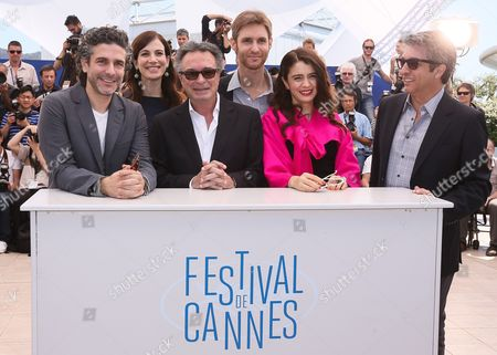 (l-r) Argentine Actor Leonardo Sbaraglia Argentine Actress Maria Marull Actor Oscar Martinez Argentine Director Damian Szifron Argentine Actress Erica Rivas and Argentine Actor Ricardo Darin Pose During the Photocall For 'Relatos Salvajes' (wild Tales) at the 67th Annual Cannes Film Festival in Cannes France 17 May 2014 the Movie is Presented in the Official Competition of the Festival Which Runs From 14 to 25 May France Cannes