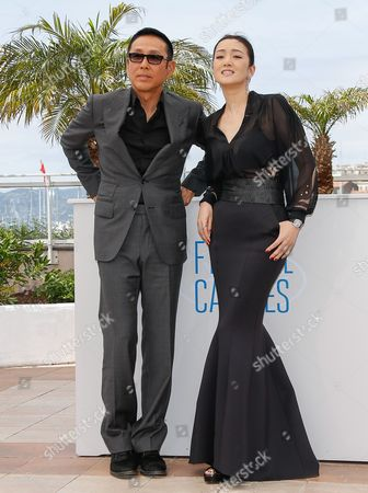 Chinese Actor Chen Daoming (l) and Chinese Actress Gong Li (r) Pose During the Photocall For 'Gu Lai' (coming Home) at the 67th Annual Cannes Film Festival in Cannes France 20 May 2014 the Movie is Presented out of Competition at the Festival Which Runs From 14 to 25 May France Cannes