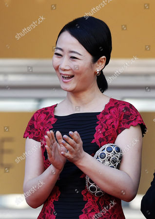Chinese Actress Tao Zhao Arrives For the Screening of 'Futatsume No Mado' (still the Water) During the 67th Annual Cannes Film Festival in Cannes France 20 May 2014 the Movie is Presented in the Official Competition of the Festival Which Runs From 14 to 25 May France Cannes