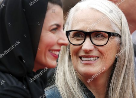 President of the Jury New Zealand Director Jane Campion (r) and Jury Member Iranian Actress Leila Hatami (l) Arrive For the Screening of the Palme D'or (golden Palm) Winning Film 'Winter Sleep' Which Closes the 67th Annual Cannes Film Festival in Cannes France 25 May 2014 France Cannes