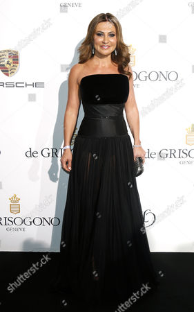 Russian Humanitarian and Author Ella Krasner Attends the Party Held by Swiss Jewelry Company De Grisogono at the Hotel Du Cap Eden Roc in Cap D'antibes France 20 May 2014 During the 67th Annual Cannes Film Festival the Festival Runs From 14 to 25 May France Cap D'antibes