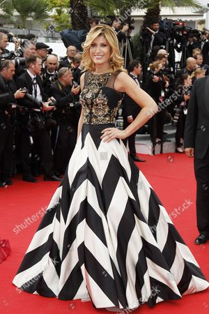 Italian Actress Raffaella Zardo Arrives For the Screening of 'Grace of Monaco' and the Opening Ceremony of the 67th Annual Cannes Film Festival in Cannes France 14 May 2014 Presented out of Competition the Movie Opens the Festival Which Runs From 14 to 25 May France Cannes
