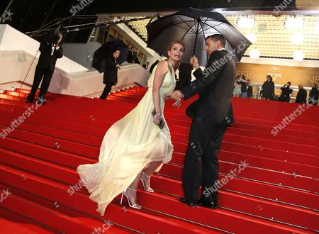 Stock Photo of French Actress Beatrice Rosen Arrives For the Screening of 'Maps to the Stars' During the 67th Annual Cannes Film Festival in Cannes France 19 May 2014 the Movie is Presented in the Official Competition of the Festival Which Runs From 14 to 25 May France Cannes