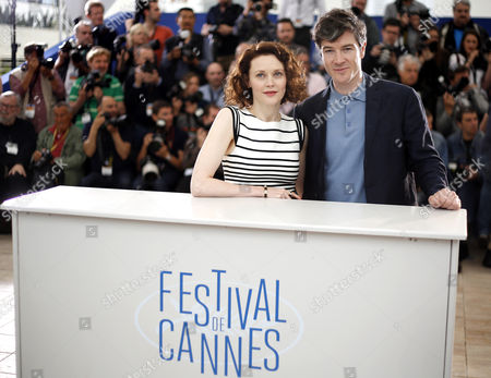 Irish Actress Simone Kirby (l) and Irish Actor Barry Ward (r) Pose During the Photocall For 'Jimmy's Hall' at the 67th Annual Cannes Film Festival in Cannes France 22 May 2014 the Movie is Presented in the Official Competition of the Festival Which Runs From 14 to 25 May France Cannes
