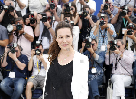 Israeli Actress Yael Abecassis Poses During the Photocall For 'Loin De Mon Pere' (that Lovely Girl) at the 67th Annual Cannes Film Festival in Cannes France 15 May 2014 the Movie is Presented in the Section Un Certain Regard of the Festival Which Runs From 14 to 25 May France Cannes
