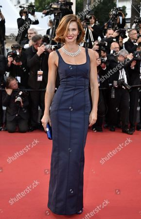 Portuguese Actress Claudia Vieira Arrives For the Screening of 'The Sea of Trees' During the 68th Annual Cannes Film Festival in Cannes France 16 May 2015 the Movie is Presented in the Official Competition of the Festival Which Runs From 13 to 24 May France Cannes