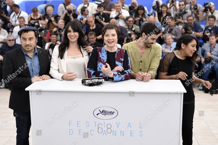 Jury Members (l-r) Greek Director Panos H Koutras Lebanese Actress Nadine Labaki Italian Actress Isabella Rossellini French Actor Tahar Rahim and Saudi Director Haifaa Al-mansour Attend the Photocall of the Un Certain Regard Jury at the 68th Annual Cannes Film Festival in Cannes France 14 May 2015 the Festival Runs From 13 to 24 May France Cannes
