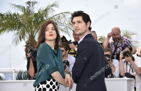 French Actor Jeremie Elkaim (r) and French Director Valerie Donzelli (l) Pose During the Photocall For 'Marguerite and Julien' at the 68th Annual Cannes Film Festival in Cannes France 19 May 2015 the Movie is Presented in the Official Competition of the Festival Which Runs From 13 to 24 May France Cannes