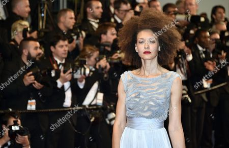 French Actress Chrystele Saint Louis Augustin Arrives For the Screening of 'Mon Roi' During the 68th Annual Cannes Film Festival in Cannes France 17 May 2015 the Movie is Presented in the Official Competition of the Festival Which Runs From 13 to 24 May France Cannes