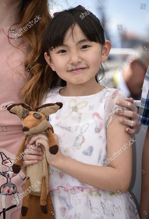 Stock Image of Japanese Actress Rio Suzuki Poses During the Photocall For 'The Little Prince' at the 68th Annual Cannes Film Festival in Cannes France 22 May 2015 the Movie is Presented out of Competition at the Festival Which Runs From 13 to 24 May France Cannes