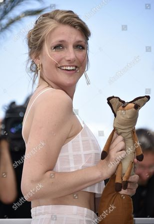 Belgian Actress Charlotte Vandermeersch Poses During the Photocall For 'The Little Prince' at the 68th Annual Cannes Film Festival in Cannes France 22 May 2015 the Movie is Presented out of Competition at the Festival Which Runs From 13 to 24 May France Cannes