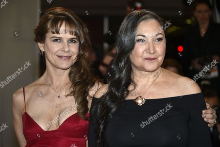 Us Actress Robin Bartlett (r) and Mexican Actress Nailea Norvind (l) Arrive For the Screening of 'Chronic' During the 68th Annual Cannes Film Festival in Cannes France 22 May 2015 the Movie is Presented in the Official Competition of the Festival Which Runs From 13 to 24 May France Cannes