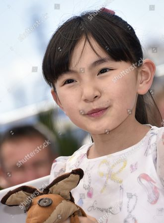 Stock Photo of Japanese Actress Rio Suzuki Poses During the Photocall For 'The Little Prince' at the 68th Annual Cannes Film Festival in Cannes France 22 May 2015 the Movie is Presented out of Competition at the Festival Which Runs From 13 to 24 May France Cannes