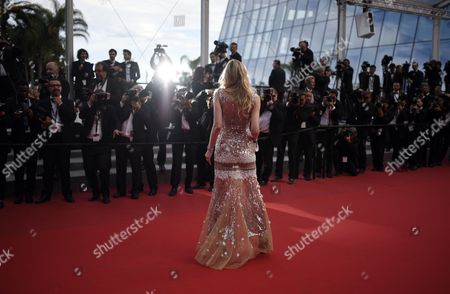 French Model Sarah Marshall Arrives For the Screening of 'Dheepan' During the 68th Annual Cannes Film Festival in Cannes France 21 May 2015 the Movie is Presented in the Official Competition of the Festival Which Runs From 13 to 24 May France Cannes