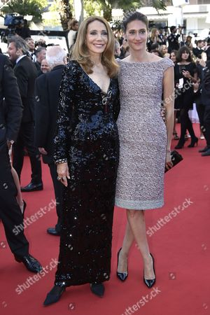 Us Actress Marisa Berenson (l) and Her Daughter Starlite Melody Randall (r) Arrive For the Screening of 'The Little Prince' During the 68th Annual Cannes Film Festival in Cannes France 22 May 2015 the Movie is Presented out of Competition at the Festival Which Runs From 13 to 24 May France Cannes