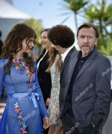 Mexican Actress Nailea Norvind (l) and British Actor Tim Roth (r) Pose During the Photocall For 'Chronic' at the 68th Annual Cannes Film Festival in Cannes France 22 May 2015 the Movie is Presented in the Official Competition of the Festival Which Runs From 13 to 24 May France Cannes