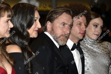 (l-r) Mexican Actress Nailea Norvind Us Actress Robin Bartlett British Actor Tim Roth Mexican Director Michel Franco and Us Actress Sarah Sutherland Arrive For the Screening of 'Chronic' During the 68th Annual Cannes Film Festival in Cannes France 22 May 2015 the Movie is Presented in the Official Competition of the Festival Which Runs From 13 to 24 May France Cannes