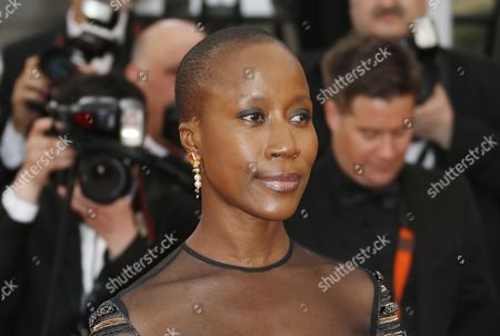 Jury Member Malian Composer Rokia Traore Arrives For the Screening of 'Irrational Man' During the 68th Annual Cannes Film Festival in Cannes France 15 May 2015 the Movie is Presented out of Competition at the Festival Which Runs From 13 to 24 May France Cannes