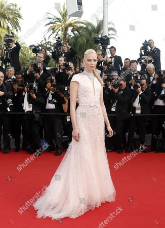 Russian Model Tanya Dziahileva Arrives For the Screening of 'La Tete Haute' (standing Tall) and the Opening Ceremony of the 68th Annual Cannes Film Festival in Cannes France 13 May 2015 Presented out of Competition the Movie Opens the Festival Which Runs From 13 to 24 May France Cannes