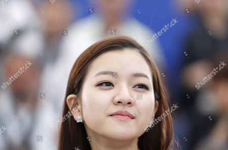 South Korean Actress Ko Ah-sung Poses During the Photocall For 'O Piseu' (office) During the 68th Annual Cannes Film Festival in Cannes France 19 May 2015 the Movie is Presented in the Section Midnight Screenings at the Festival Which Runs From 13 to 24 May France Cannes