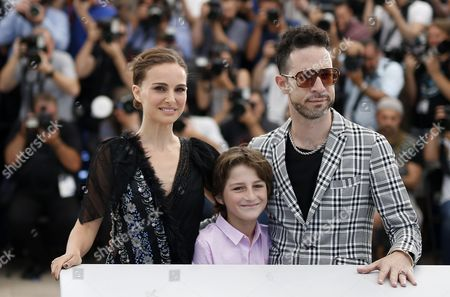 (l-r) Us Actress and Director Natalie Portman Israeli Actor Amir Tessler and Israeli Actor Gilad Kahana Pose During the Photocall For 'Tale of Love and Darkness' at the 68th Annual Cannes Film Festival in Cannes France 17 May 2015 the Movie is Presented in the Section Special Screenings of the Festival Which Runs From 13 to 24 May France Cannes