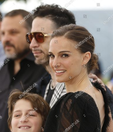 Israeli Actor Gilad Kahana (l) and Us Actress and Director Natalie Portman (r) Pose During the Photocall For 'Tale of Love and Darkness' at the 68th Annual Cannes Film Festival in Cannes France 17 May 2015 the Movie is Presented in the Section Special Screenings of the Festival Which Runs From 13 to 24 May France Cannes
