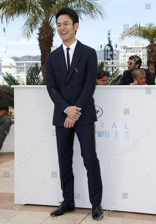 Japanese Actor Tsumabuki Satoshi Poses During the Photocall For 'Nie Yinniang' (the Assassin) at the 68th Annual Cannes Film Festival in Cannes France 21 May 2015 the Movie is Presented in the Official Competition of the Festival Which Runs From 13 to 24 May France Cannes