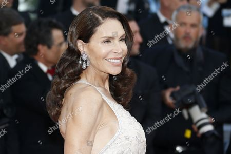 Stock Photo of Lebanese-born French Socialite Mouna Ayoub Arrives For the Screening of 'The Little Prince' During the 68th Annual Cannes Film Festival in Cannes France 22 May 2015 the Movie is Presented out of Competition at the Festival Which Runs From 13 to 24 May France Cannes