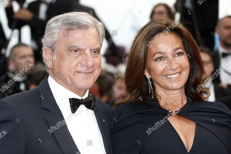 Dior Ceo Sidney Toledano (l) and Wife Katia Toledano (r) Arrive For the Screening of 'Macbeth' During the 68th Annual Cannes Film Festival in Cannes France 23 May 2015 the Movie is Presented in the Official Competition of the Festival Which Runs From 13 to 24 May France Cannes