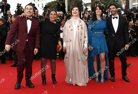 Jury Members (l-r) Greek Director Panos H Koutras Saudi Director Haifaa Al-mansour Italian Actress Isabella Rossellini Lebanese Actress Nadine Labaki and French Actor Tahar Rahim Arrive For the Screening of 'Mad Max: Fury Road' During the 68th Annual Cannes Film Festival in Cannes France 14 May 2015 the Movie is Presented out of Competition at the Festival Which Runs From 13 to 24 May France Cannes