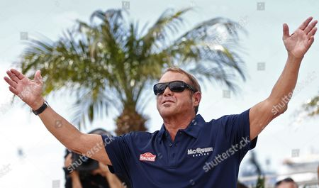 Steve Mcqueen's Son Us Actor and Producer Chad Mcqueen Poses During the Photocall For 'Steve Mcqueen: the Man and Le Mans' at the 68th Annual Cannes Film Festival in Cannes France 16 May 2015 the Movie is Presented in the Section Cannes Classics of the Festival Which Runs From 13 to 24 May France Cannes