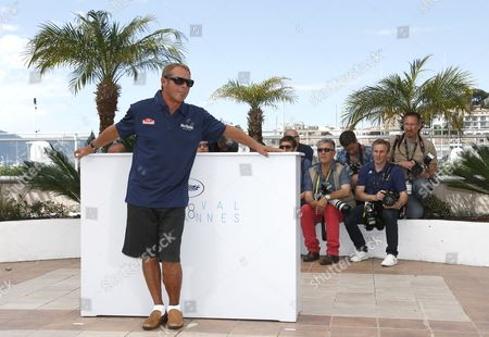 Steve Mcqueen's Son Us Actor and Producer Chad Mcqueen Poses During the Photocall For 'Steve Mcqueen: the Man and Le Mans' at the 68th Annual Cannes Film Festival in Cannes France 16 May 2015 the Movie is Presented in the Section Special Screenings of the Festival Which Runs From 13 to 24 May France Cannes